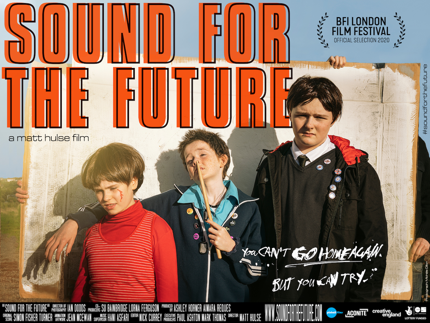 Sound for the Future: film poster with actors in costume as The Hippies